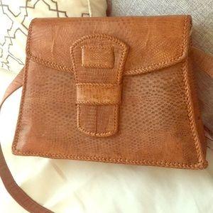 Handbags - Natural animal skin bag.